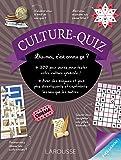 Culture-quiz (Cahiers de vacances)