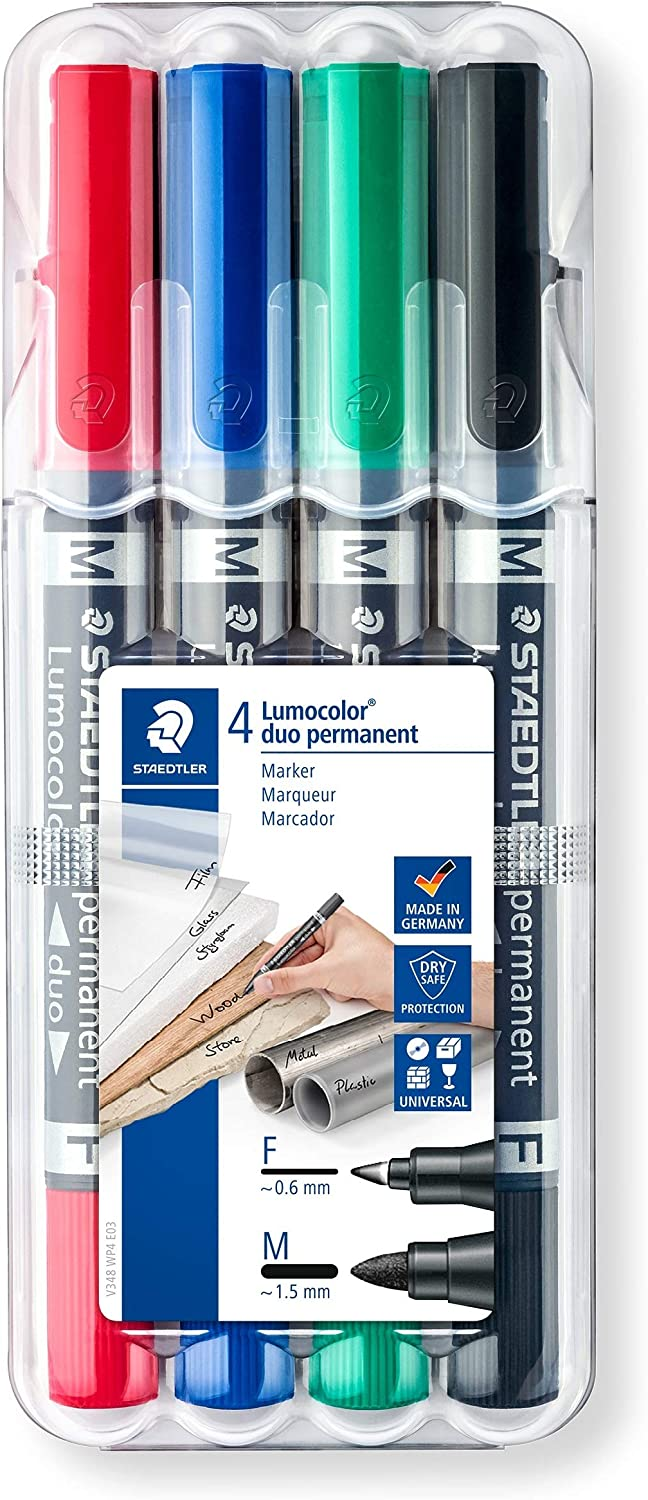Medium Staedtler Lumocolor Permanent Marker All Pack Quantities Available