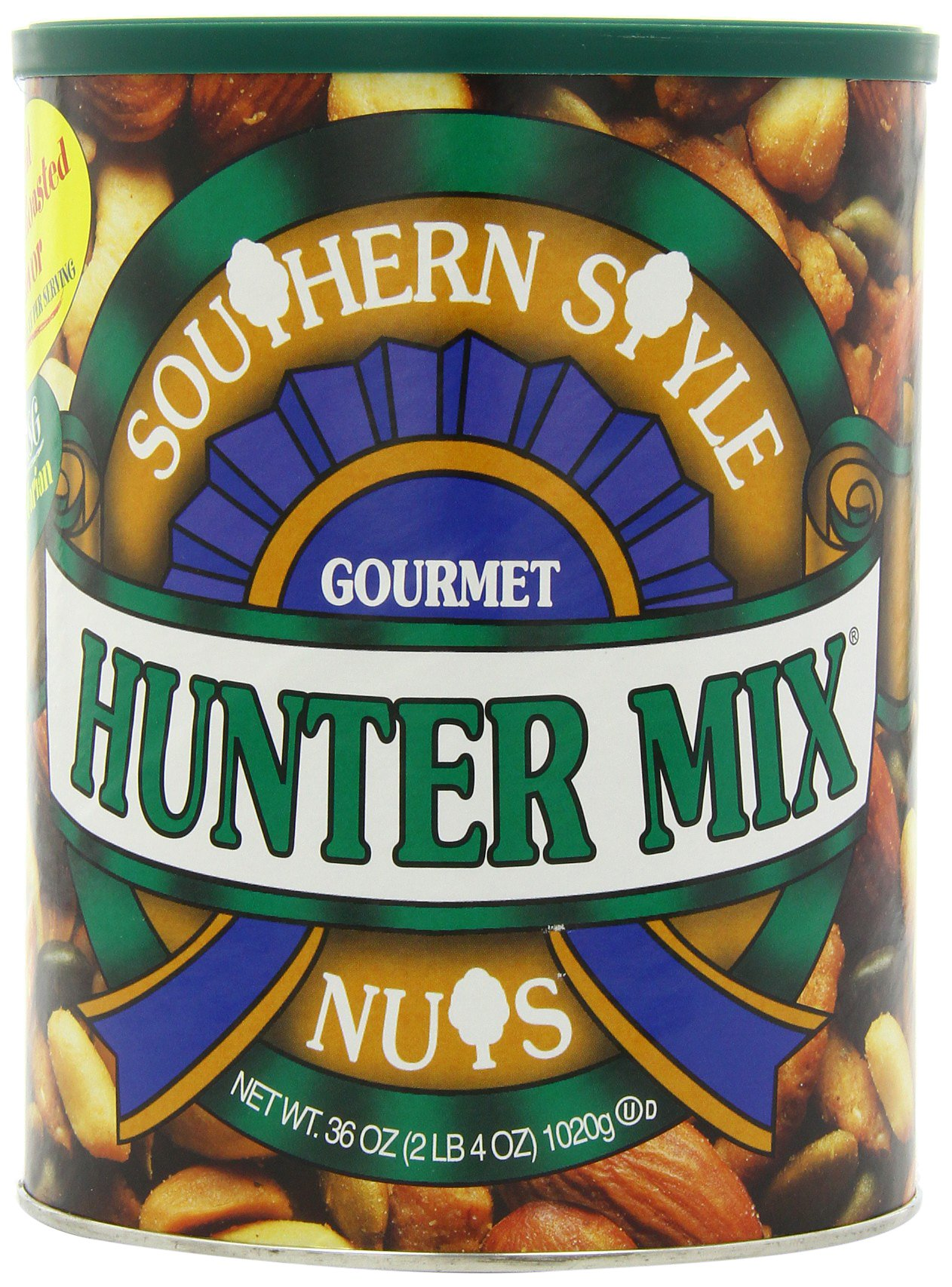 SOUTHERN STYLE NUTS Gourmet Hunter Mix, 36 oz Canister