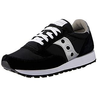 Saucony Originals Men's Jazz Sneaker,Black/Silver,11.5 M