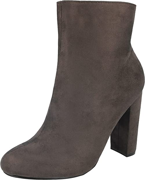 Shoes By Emma Ladies Faux Suede Grey