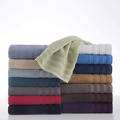 Egyptian Cotton Dryfast Hand Towel By Martex Premium Luxurious Top Hotel Quality Soft Absorbent Machine Washable Quick Drying Cream Home Kitchen