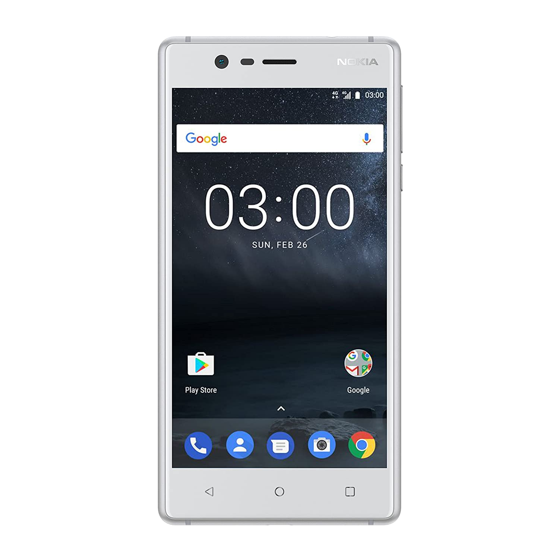 Nokia 3Single SIM Smartphone (12,7cm (5Pulgadas), 16GB, cámara de 8Mpx, Android)