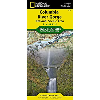 Amazon.com : Trails Illustrated Columbia River Gorge National Scenic on