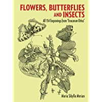 Flowers, Butterflies and Insects (Dover Pictorial Archive)