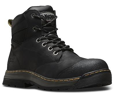 e6f21dedfd0 Dr. Martens Mens Deluge EH Waterproof Safety Toe 6-Eye Boot