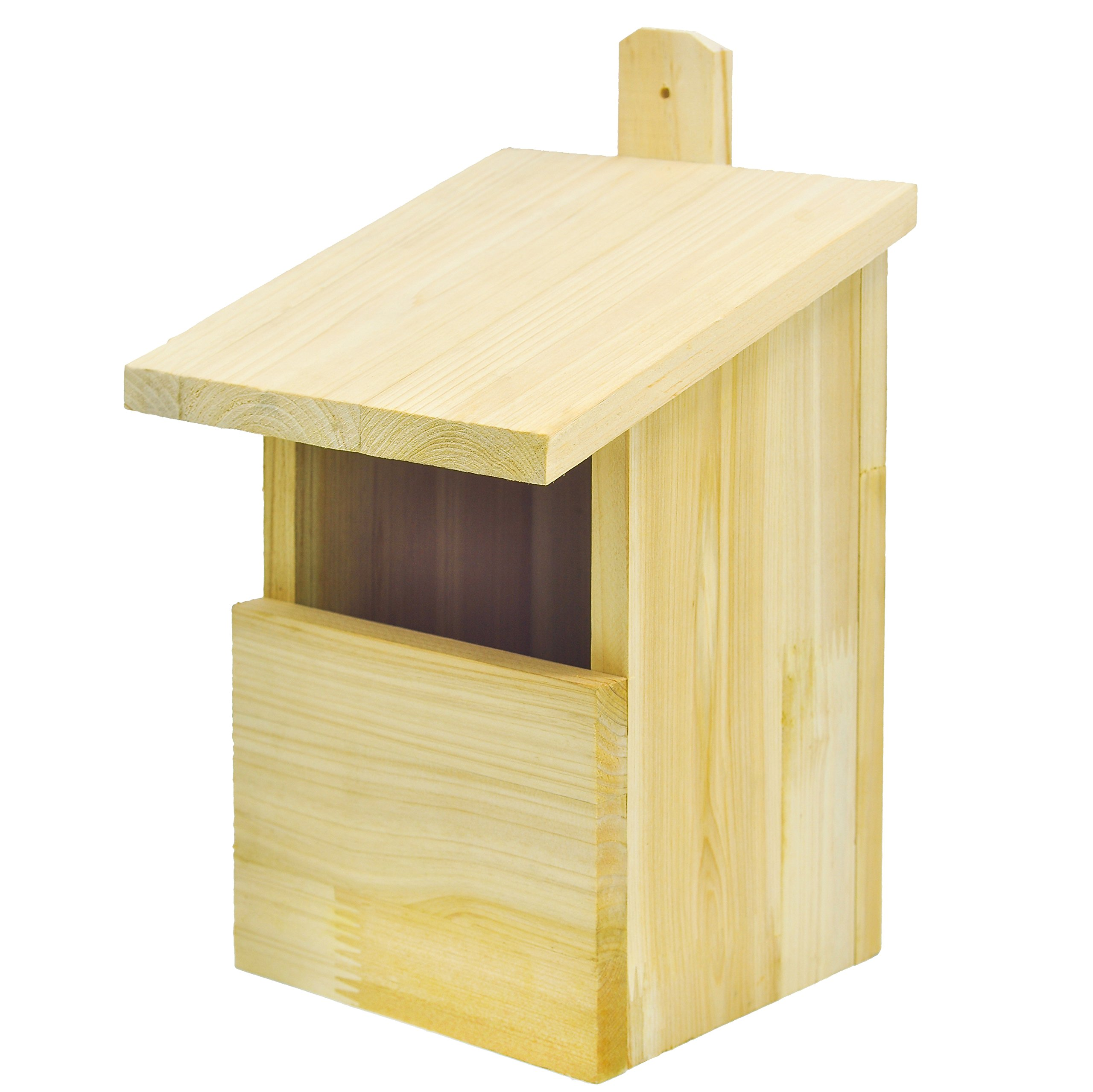Niteangel Bluebird & Tree Swallow Bird House, 8.2×9.6×6.2 inch