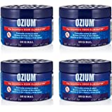 Ozium Smoke & Odor Eliminator 8oz (226g) Gel for Home, Office and Car Air Freshener, Original Scent (4 Pack)