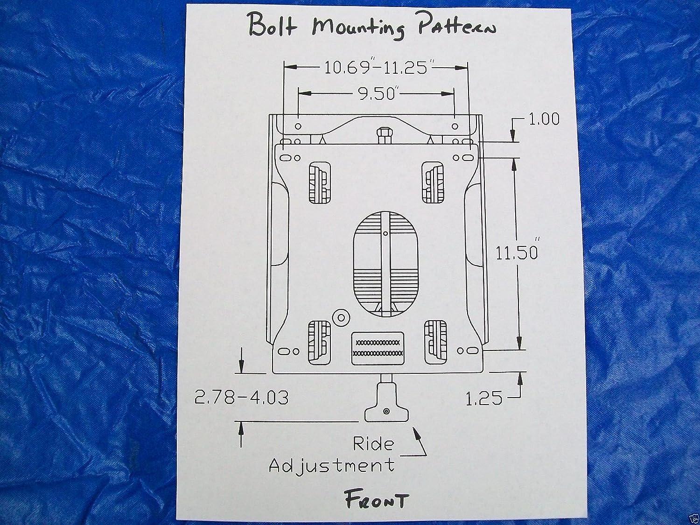 Seats Inc Seat Suspension Exmark Kubota John Deere Cub Cadet Wiring Diagram For 1100 Z Trak Toro Hustler Ztr Lawn Mowers Ep Garden Outdoor