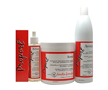 Avena Proport Intensive Anti Hair Loss Shampoo, Mask, Drop Full Set