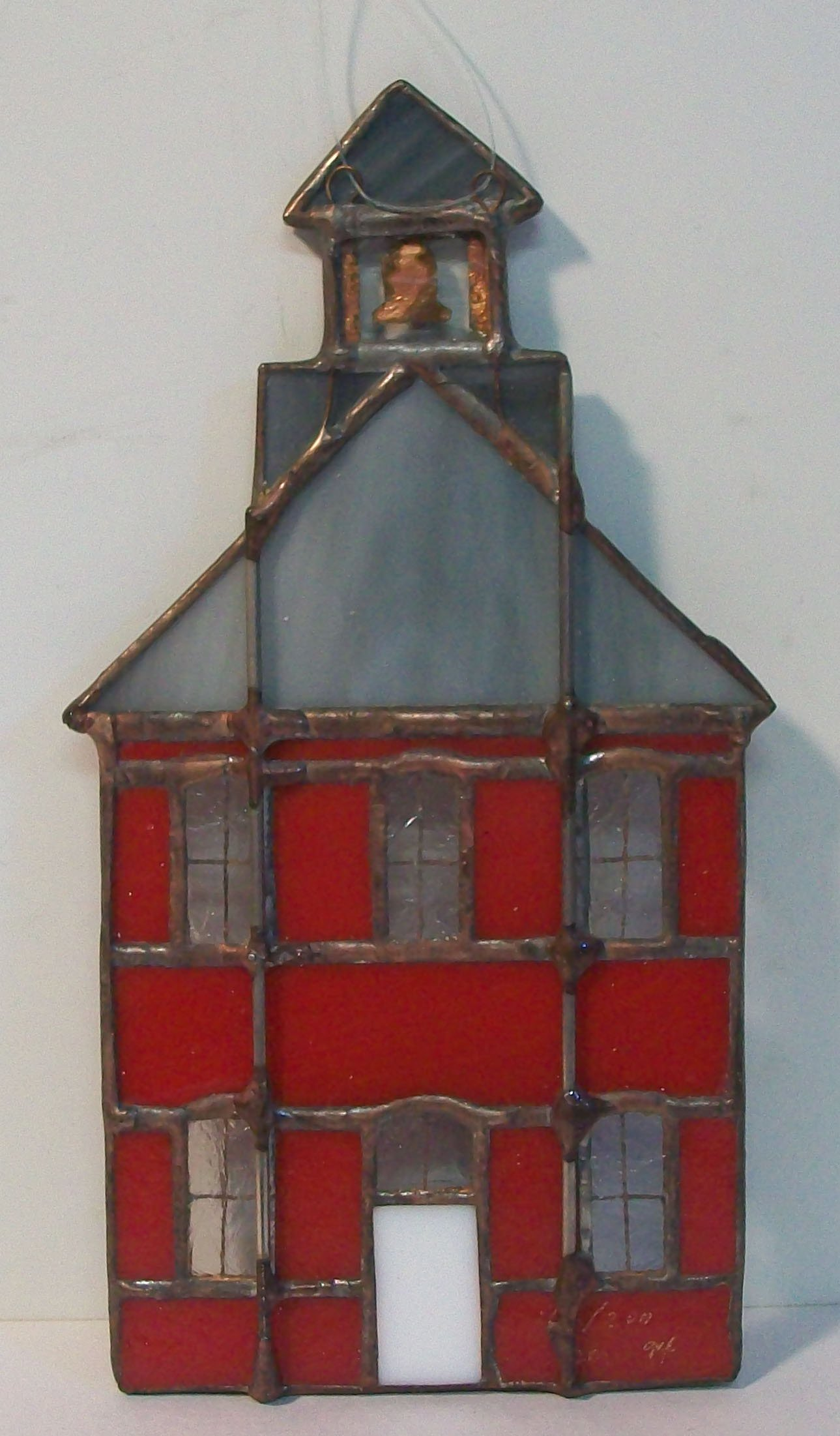 School House Stained Glass