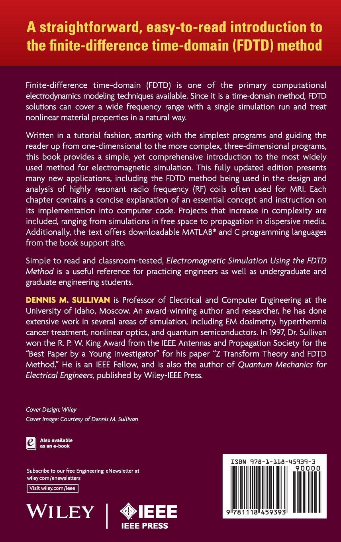Electromagnetic Simulation Using the FDTD Method: Amazon co