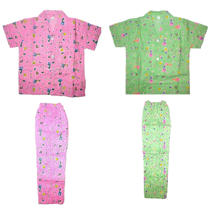 Light Gear Kids Knitted Cotton Summer Sleepwear / Home Wear
