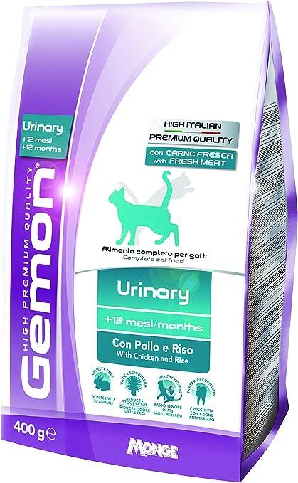 Gemon Gato Urinary Carni Blancas GR 400: Amazon.es: Productos para mascotas