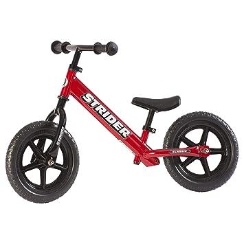 Strider - Bicicleta sin pedales Strider 12 Classic, para niños de 18 meses a 3 años, roja: Amazon.es: Deportes y aire libre