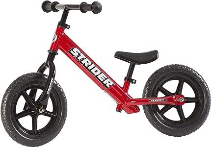Strider - Bicicleta sin pedales Strider 12 Classic, para niños de ...