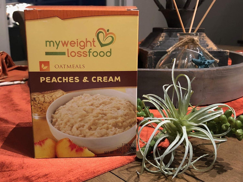 HealthWise Oatmeal Peaches & Cream, (7 Packets of 0.952 Oz., Net 6.66 Oz.)