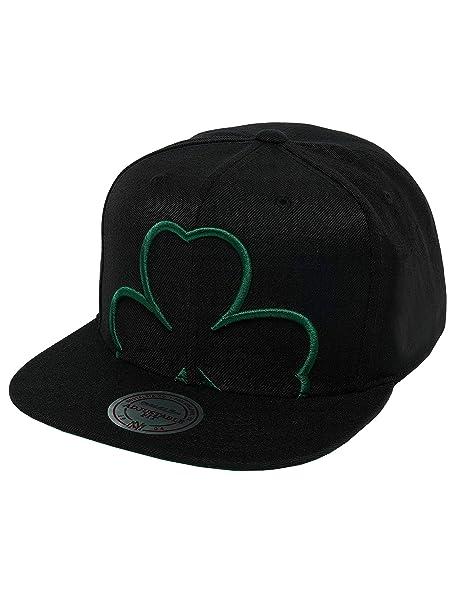 Mitchell   Ness Mujeres Gorras Gorra Snapback Raised Perimeter Boston  Celtics e82bebb56dc
