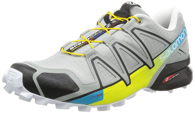 Salomon Herren Speedcross 4 Traillaufschuhe  41 1/3 EU|Grau (Light Onix/Black/Corona Yellow)