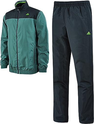 adidas - Chándal - para hombre verde verde oscuro 180 cm: Amazon ...