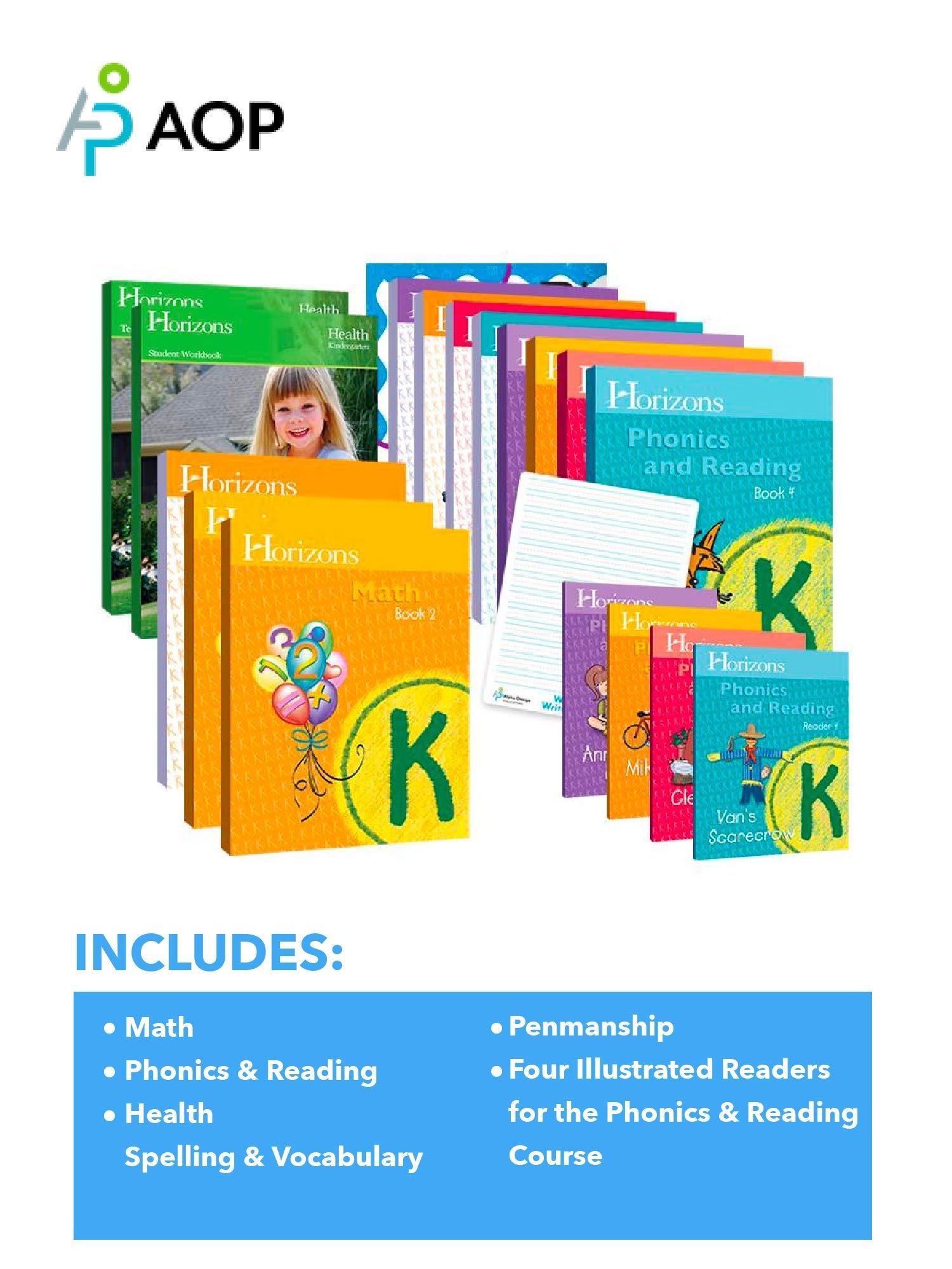 Horizons Kindergarten Complete Set 9780740309373 Amazon Com Books