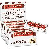 Larabar Coconut Chocolate Chip, Gluten Free Vegan Fruit & Nut Bar, 1.6 oz Bars, 16 Ct