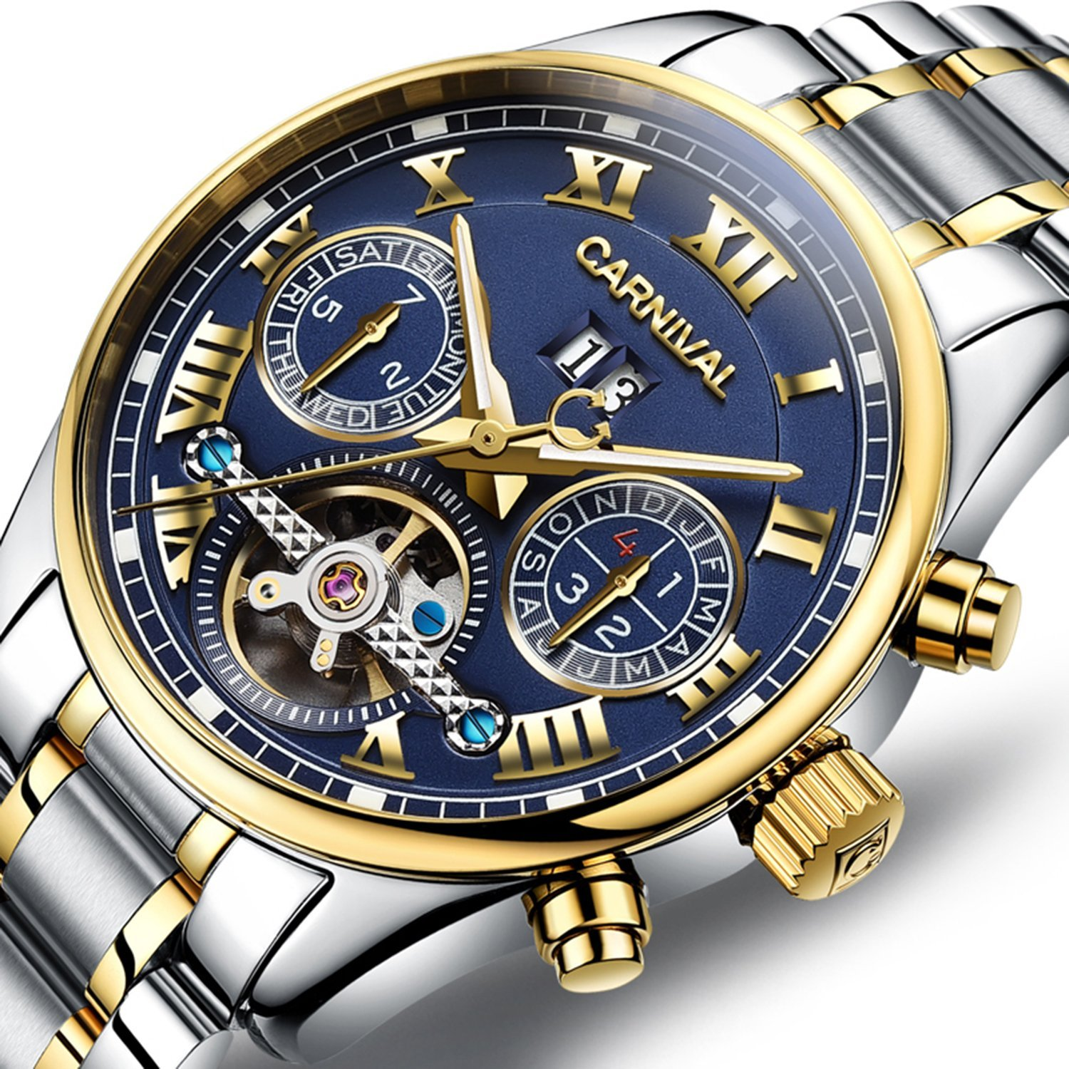 Galleon Pasoy Carnival Men S Watch Automatic Mechanical