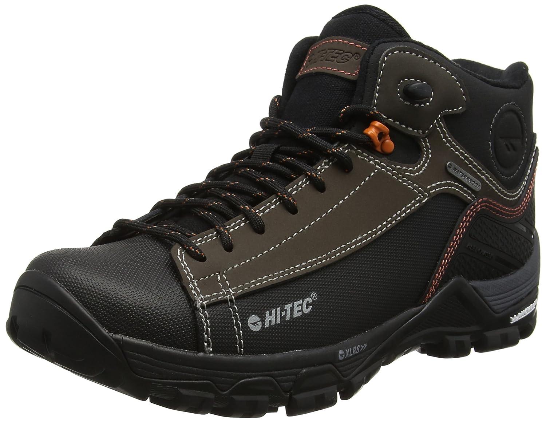 Hi-Tec Trail Ox Chukka I Waterproof, Botas de Senderismo para Hombre 46 EU|Marrón (Chocolate/Burnt Orange)