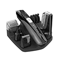 PG525 Head to Toe Lithium Powered Body Groomer Kit, Beard Trimmer (10 Pieces)