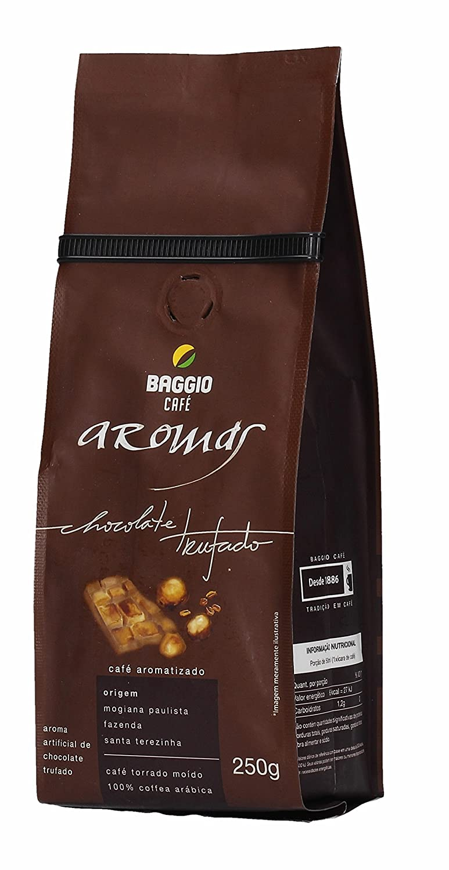 Amazon.com : Baggio Aroma Chocolate Truffle Brazilian Roasted Ground Coffee 8.8oz/250g Bag : Grocery & Gourmet Food