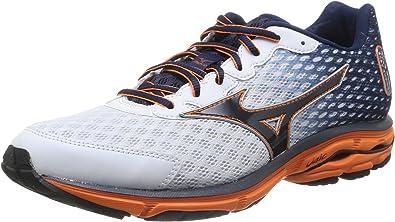 Mizuno Wave Rider 18 - Zapatillas de running (talla 46,5): Amazon.es: Deportes y aire libre