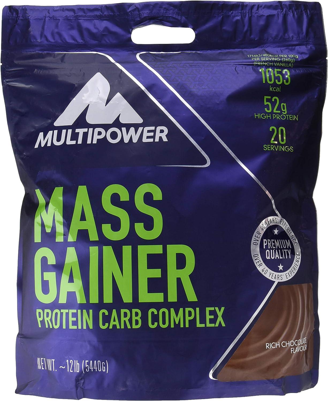 Multipower Mass Gainer Suplemento Sabor Rich Chocolate - 5440 gr