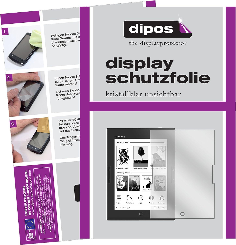 dipos I 2X Protector de Pantalla Compatible con Energy Sistem eReader Pro HD pelicula Protectora Claro: Amazon.es: Electrónica