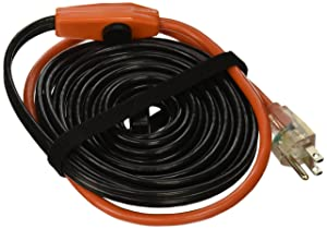 Frost King, Black HC24A Automatic Electric Heat Cable Kits, 24ft x 120V x 7 Watts/ft, 24 Feet