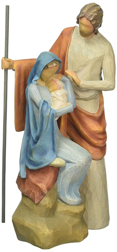 Willow Tree The Holy Family Figurine Amazon Co Uk Kitchen Home