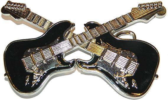 Guitar Buckle Gross – cruzado de guitarra, cinturón hebilla Rock ...