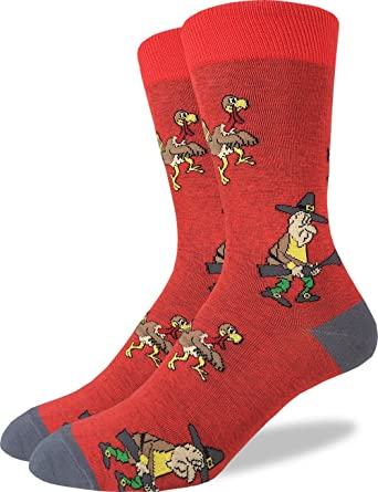 Red Chicken Grey Casual Cotton Crew Socks Cute Funny Sock,great For Sports And Hiking