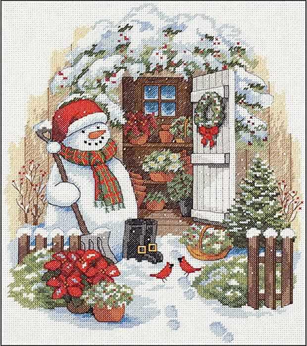 Top 10 Garden Counted Cross Stitch Kit