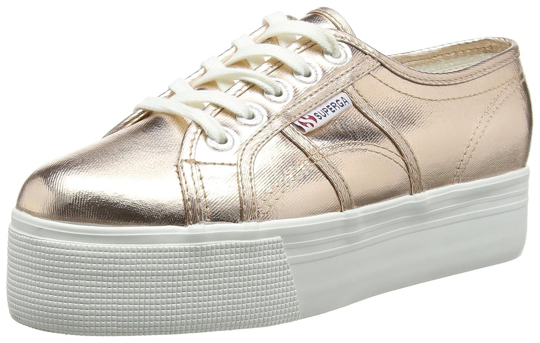Superga 2790 COTMETW - Zapatillas Mujer, Color Gris - Gris (Gris), Talla 38 EU (5 UK)