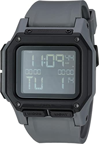 Nixon Regulus Wristwatch Vibrating Alarm