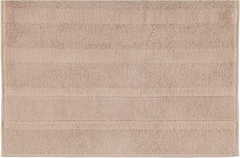 375 Waschhandschuh 16x22 cm Caw/ö Home Handt/ücher Noblesse2 Uni 1002 Sand