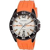 Laurels White Dial Timex Day n Date Men's Watch (Lo-Tmx-011102)