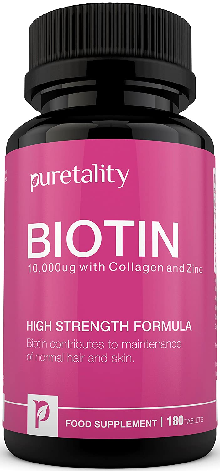 Biotin Hair Growth Supplement with Collagen 35fe6406fe7b