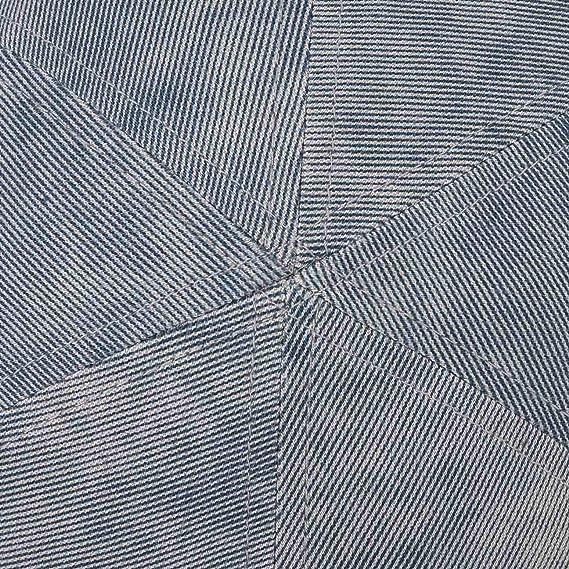 con Cotone Primavera//Estate Lipodo Coppola in Denim dal Look Effetto Usato da Uomo Coppola in Jeans Berretto Maschile con Fascia Elastica