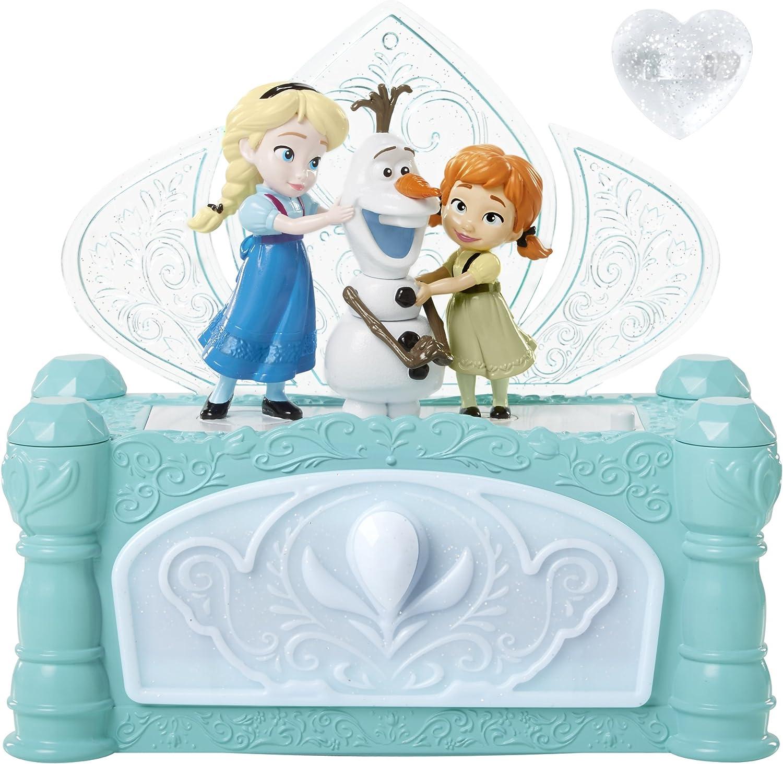 Frozen - Caja de Joyas con Elsa, Anna y Olaf, diseño Do You Want ...