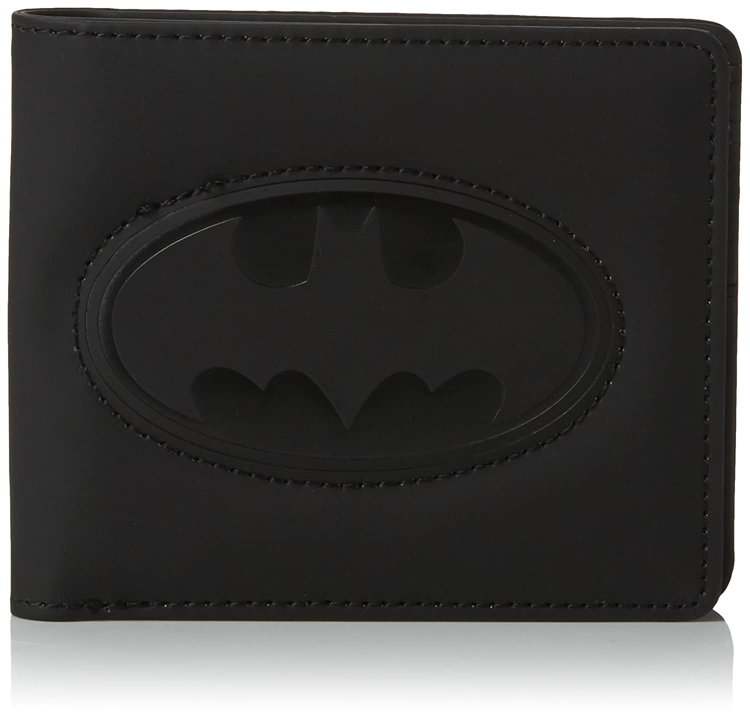 Batman Black Embossed Logo Wallet by DC Comics TruffleShuffle DCBBWEBM-WBUIN