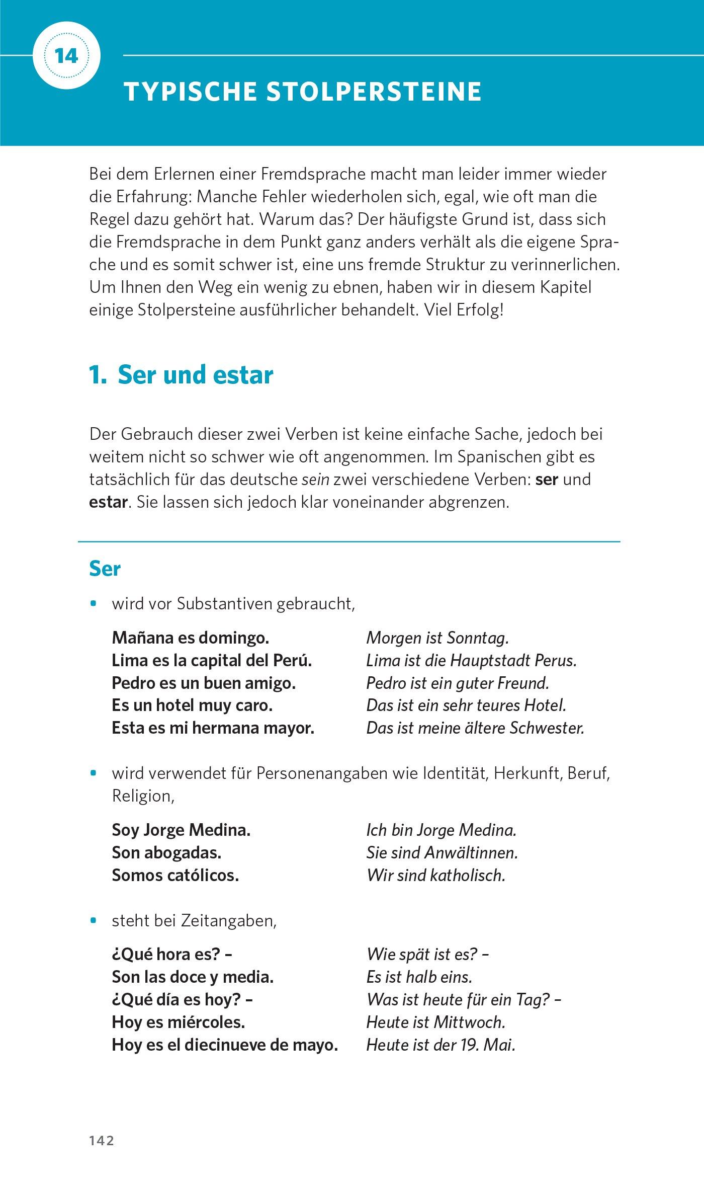 PONS Grammatik kurz & bündig Spanisch: 9783125626966: Amazon.com: Books