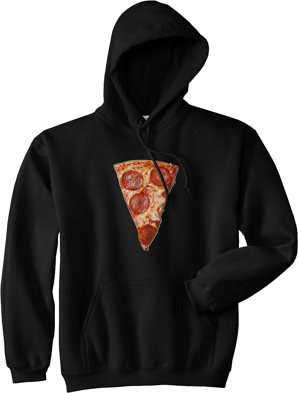 Kings Of NY Real Pizza with Pepperoni Emoji Meme Mens Pullover Hoodie Hoody