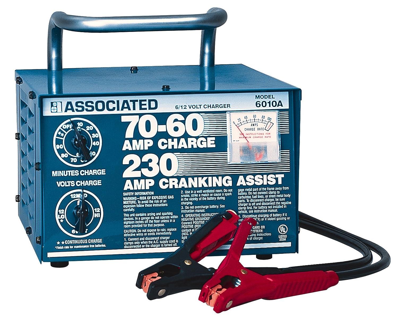 Amazon.com: Associated Equipment 6010B 6/12V 70/60 Amp Portable ...