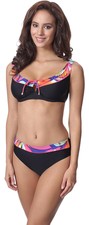 TALLA EU(Top 85 E / 42)=ES(100E/44). Merry Style Conjunto Bikini Sujetador y Bragas 2 Piezas Mujer P62981MC